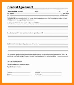 eviction notice sample general contract agreement