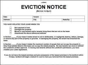 eviction notice template eviction notice template 10