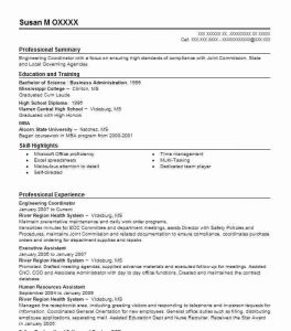 Example Engineering Resume Professional Engineer Template Amazing Examples Livecareer Download
