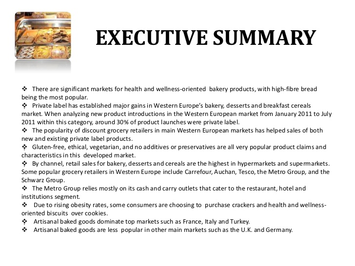 example executive summary