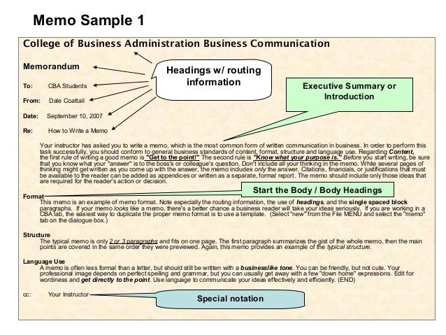 example executive summary