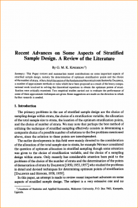 example of a literature review literature review sample