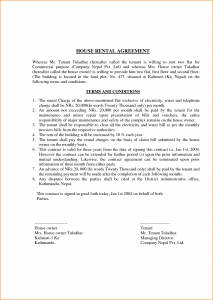 example of an obituary lease agreement format