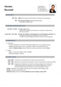 example of character reference letter cv examples francais images healthysnacksshop within francais curriculum vitae template