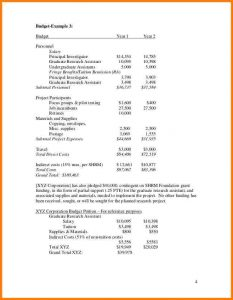 example of grant proposal example of budget in a research proposal sample proposal budgets cb