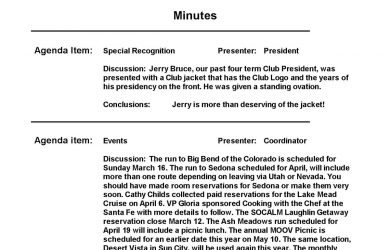example of meeting minutes meeting minutes example template