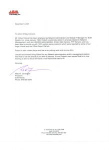example of reference letter reference letter