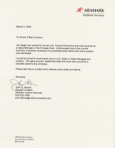 example reference letter reference letter a