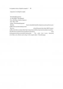 example resignation letter example of resignation letter mthlozro