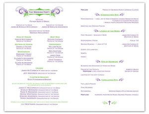 example wedding programs dcffafcde wedding program samples wedding programs wording