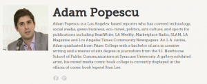 examples of biography mashable bio adam popescu
