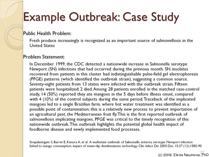 examples of case studies