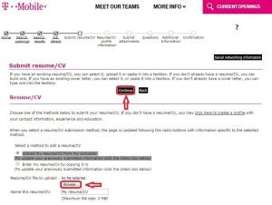 examples of high school resumes how to apply t mobile online step