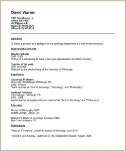 examples of letter of resignation academic cv template academic resume example