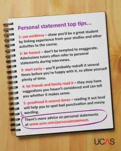 examples of personal statements for graduate school personal statement top tips