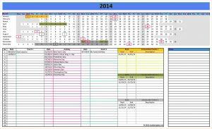 excel cash flow template excel template calendar