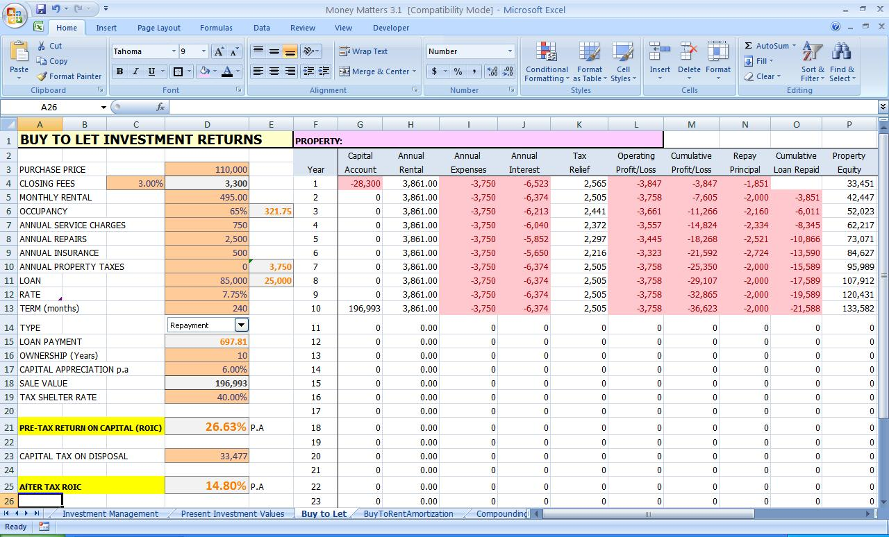 Excel Expenses Report  Personal Expense Report