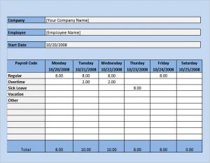 excel payroll template payroll timesheet excel