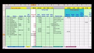 excel quote template accounting expense spreadsheet