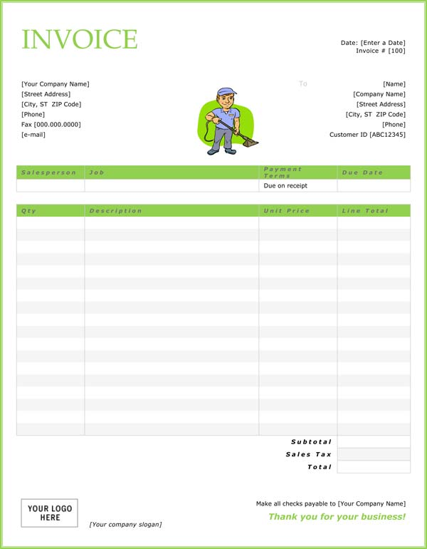 excel quote template