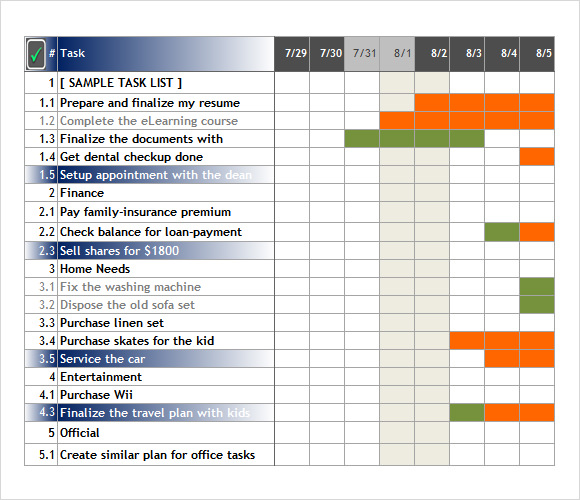Excel Task Tracking Template Kleobeachfixco - Excel sheet template for task tracking