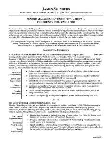 executive resume samples resume sample executivea