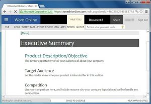 executive summary format example executive summary template for word