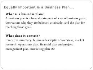 executive summary marketing plan business model vs business plan