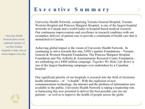 executive summary report example chair in health information chair proposal