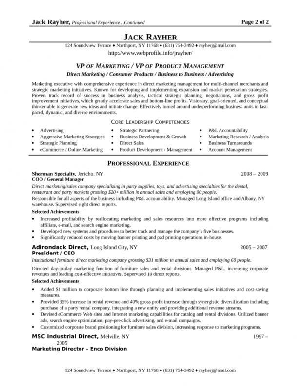 executive summary samples