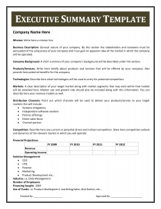 executive summary template executive summary template hfgteaf5