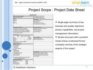 executive summary template word agile project management framework