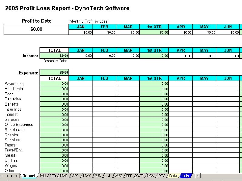 expense report template excel template business