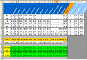 expense tracker template excel spreadsheet templates qppirhec