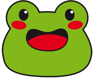 face mask template mask with the face of a frog or a toad dccca thumb