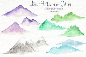 facebook ad templates hills clip art ad