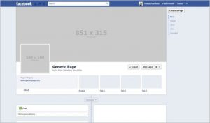 facebook header template awesome facebook timeline size template