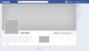 facebook header template facebook timeline template