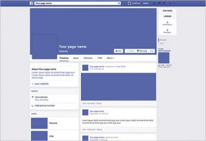 facebook page template facebook page mockup psd free download1