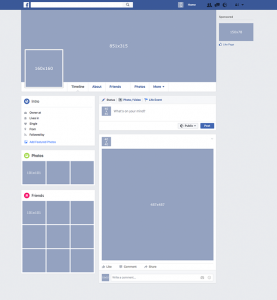facebook page template facebook template profile page preview