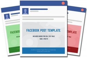 facebook post template facebook post template full