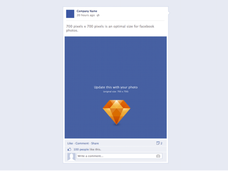 facebook app template psd - facebook post template template business
