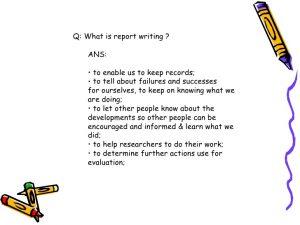 facebook template for students short report presentation