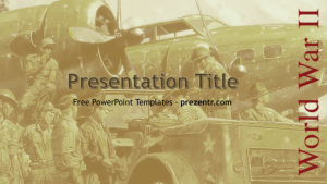 facebook template for students wwii powerpoint template preview x
