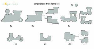 facebook template pdf gingerbread train template