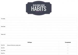 facebook template pdf habit tracker