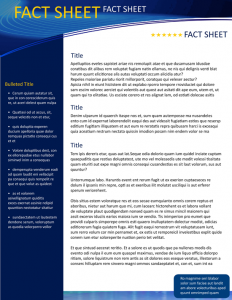 fact sheet template fact sheet template xr9cxf5c