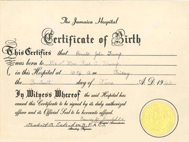 Fake Birth Certificate Maker | Template Business