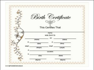 fake birth certificate maker baby book for titanium
