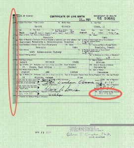 fake death certificate eyeswideblind obama birth certificate